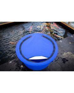 Housse opaque avec fermeture éclair pour bacs d'inspection d'environ 80cm